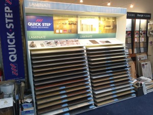 Quickstep display stands